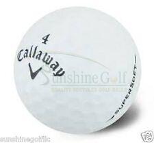 50 Near Mint Callaway Supersoft AAAA Used Golf Balls **FREE SHIPPING**