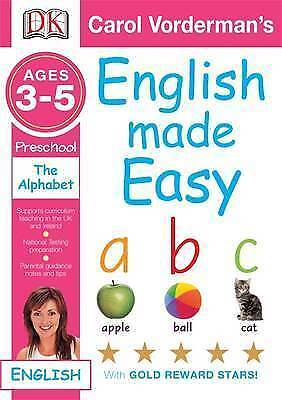 English Made Easy The Alphabet Preschool Ages 3-5 (Carol Vorderman's English Mad