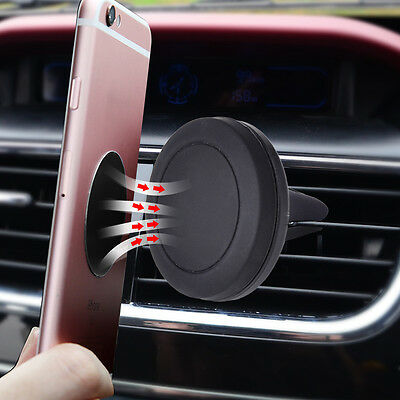 360¡ã Car Magnetic Air Vent Mount Mobile Cell Phone Holder Stand Grip Cradle