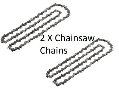"2 x Chainsaw Chains for GARDENCARE GC4016 4016 40cm//16/"" 57 Links"