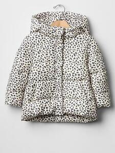 Clothing, Shoes & Accessories Forceful Gap Baby Toddler Girls 12-18 Months Ivory Purple Leopard Puffer Coat W/ruffle And To Have A Long Life. Outerwear