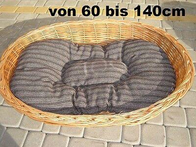 Hundebett Weide Hunde-bett Katzen-bett Hundekorb + Kissen Verschiedene Größen Exzellente QualitäT