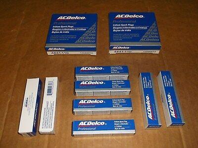 AC//Delco 41-110 Iridium Spark Plugs~8 Pcs~12680072~Corvette~Escalade~Avalanche~