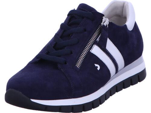 Gabor Sneaker Halbschuh Freizeit Damen Blau 46.355-36