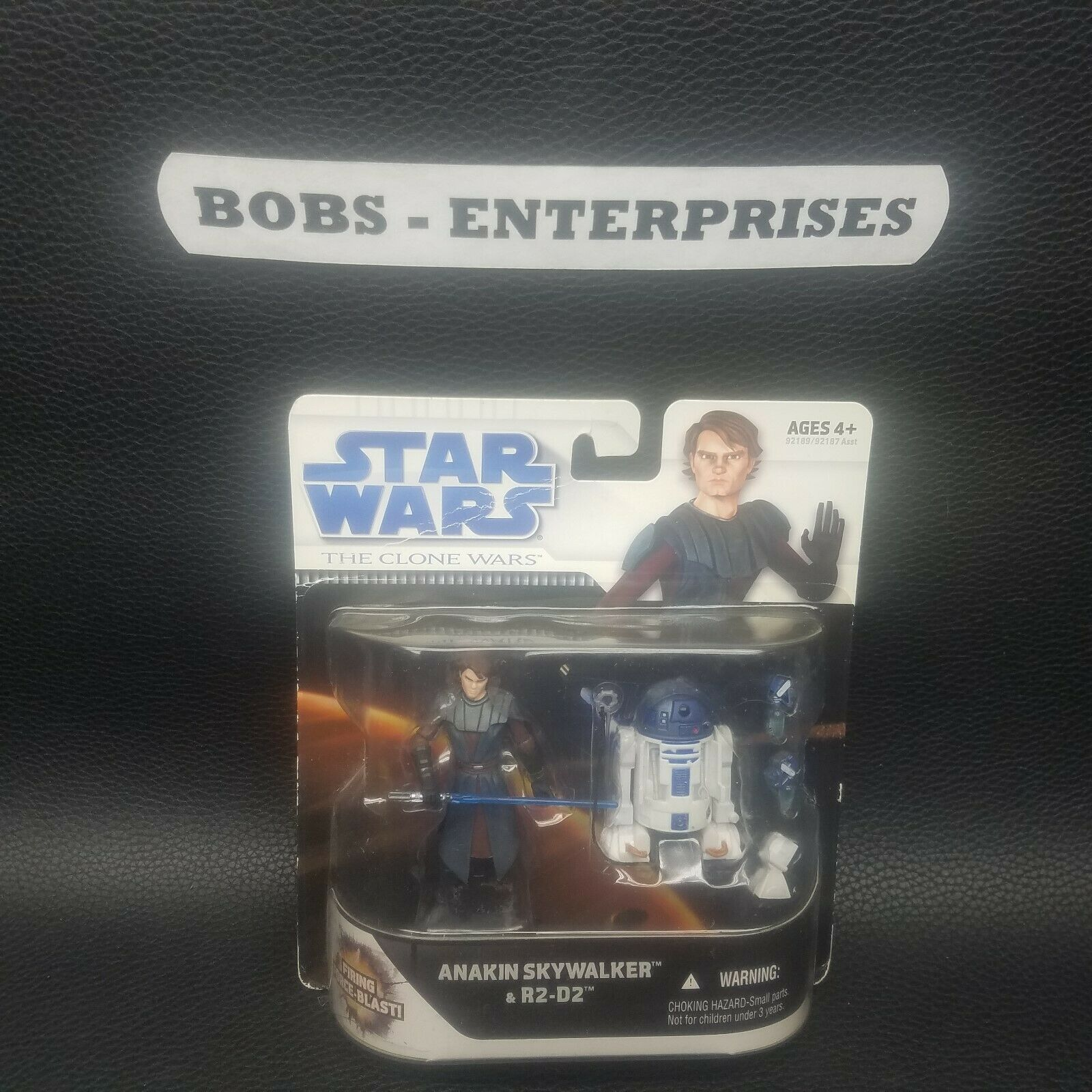R2-D2 Anakin Skywalker 2009 STAR WARS WARS WARS Clone Wars  Force Blast CARD DMG. SW-93 e3306e