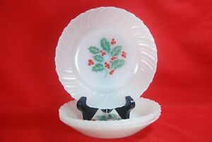Termocrisa-HOLLY-Soup-Bowls-Set-of-4-7-1-2-034-Christmas