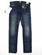 PRPS - Gremlin Mid Blue Ultra Skinny Fit Stretch Jeans W30 L34 - RRP£245
