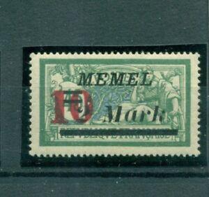 Memel-auf-franzoesischer-Marke-Nr-121-II-postfrisch-geprueft-BPP