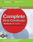 Complete First Certificate Workbook with Answers and Audio CD by Amanda Thomas, Barbara Thomas (Mixed media product, 2008)