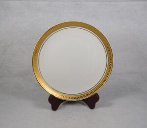 Horchow-HCH31-Japan-Gold-Encrusted-Laurel-Band-Salad-Dessert-Plate-7-3-4-034