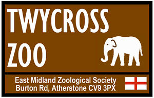 173178a77 Image is loading STREET-ROAD-SIGNS-TWYCROSS-ZOO-SOUVENIR-NOVELTY-FRIDGE-