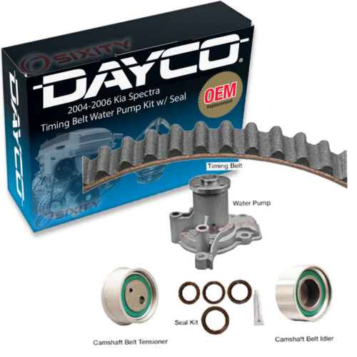 mb Dayco Timing Belt Water Pump Kit w// Seal for 2004-2006 Kia Spectra 2.0L L4