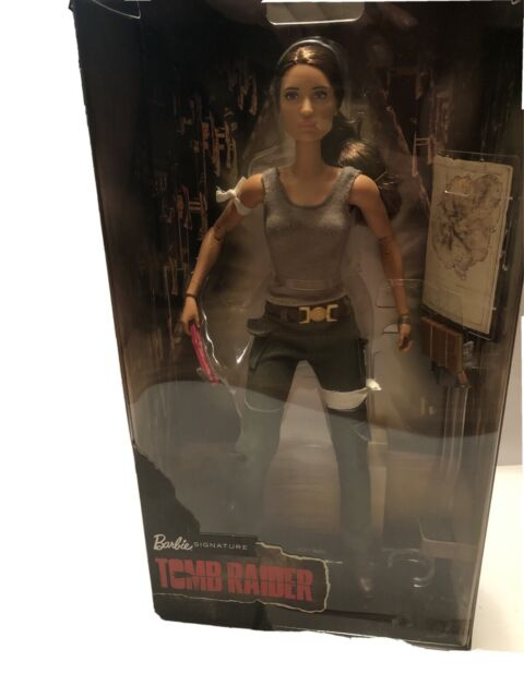 Tomb Raider Is Getting Its Own Barbie Doll Inspired by Lara