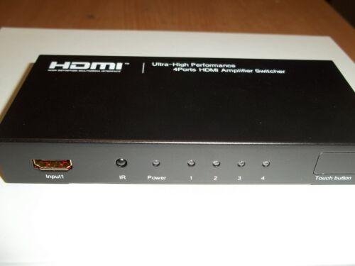 GARANTIE 12  MOIS COMMUTATEUR HDMI MONACOR HDMS-4012 PRODUIT NEUF