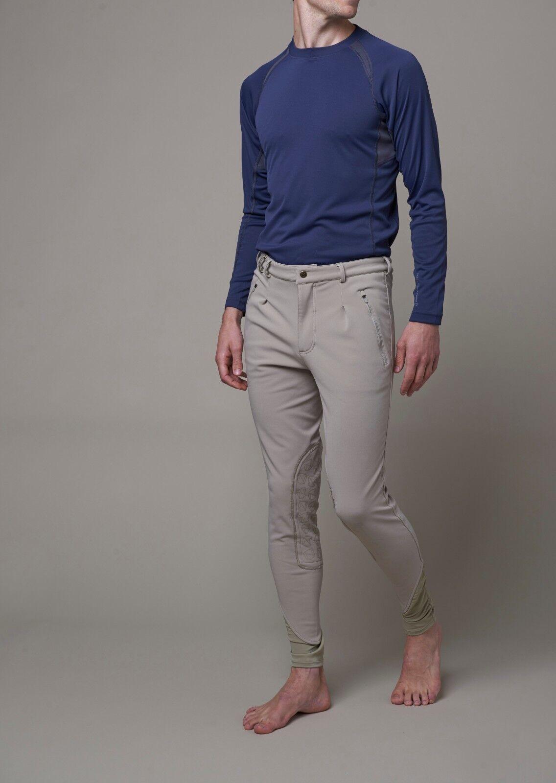 nuevo   noble Outfitters Para Hombre Softshell Pantalones De Montar Bronceado tradicional Talla 34  el más barato