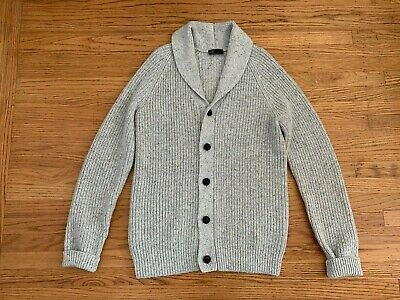 M Gap NWD Womens Oversize Sweater Pullover V Neck Long Gray Wool Alpaca S
