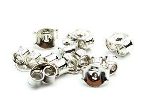 925-Sterling-Silver-Earring-Backs-Butterfly-10-pieces
