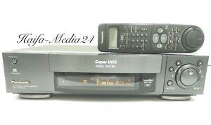 Panasonic NV-HS950 HighEnd SVHS Recorder / S-VHS Videorecorder +FB 1 Jahr Gewähr