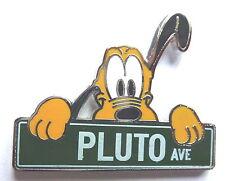 Disney Pin Badge Disney Streets Street Signs Pluto Ave