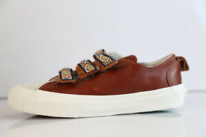 7376f762b8 Vans Taka Hayashi TH Lo Strap Suede Leather Brown Marshmallow 8-11.5 ...