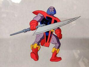 90s-TERRAX-Fantastic-Four-ANIMATION-CEL-Marvel
