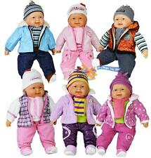 """20"""" Lifelike Size Large Happy Face Soft Bodied Baby Doll Girls Boys Play Toy"""