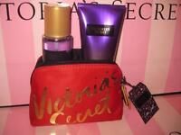 Victoria's Secret Love Spell Fantasies Mist & Fragrance Lotion Gift Set Purse