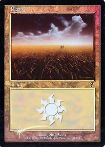 Plains #342 Various conditions MTG 7th Edition Foil
