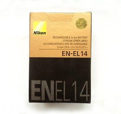 New Camera Battery EN-EL14 For Nikon P7000 D3100 D3200 D5100 D5200 1030Mah