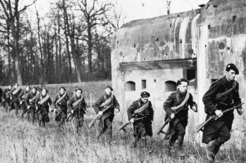 Les troupes de forteresse dans la Ligne Maginot en 1939 WW2