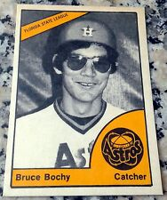 BRUCE BOCHY 1977 SP Rookie Card RC GIANTS 2010 2012 2014 World Series Champions