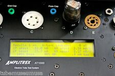 NOS 1950 GE 6K6GT VT-152 TUBE AMPLITREX BIVALVE TESTED AUDIO OUTPUT PENTODE 105%