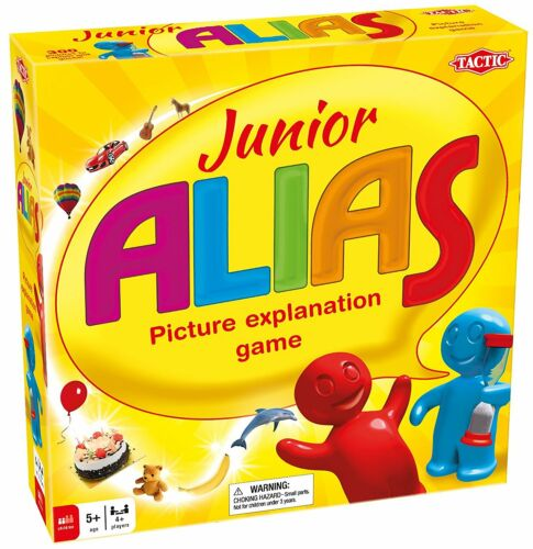 Junior Alias Word Board Game