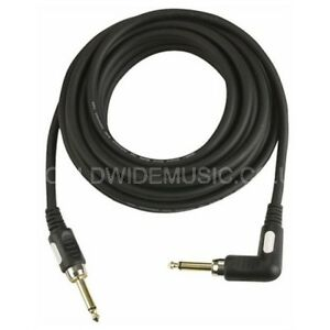 DAP-Professional-Quality-Guitar-Lead-Cable-with-Right-Angle-Plug-6-Metres-FL186