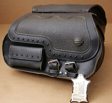 HARLEY ORIGINAL SATTELTASCHE SADDLEBAG SIDE CASES PACKTASCHE HERITAGE SOFTAIL