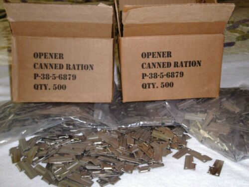 P38 Can Opener 15 Piece Military Issue US Shelby Co American Made Hunt Camp Gear