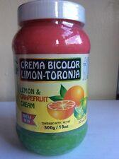 CREMA REDUCTORA BICOLOR DE LIMON-TORONJA. BOTE 18 oz. Lemon & Grapefruit Exp2018
