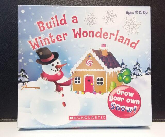 Strange Scholastic Diy Build A Winter Wonderland Make Your Snow Kids Gift Download Free Architecture Designs Rallybritishbridgeorg