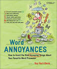 Word Annoyances by Guy Hart-Davis (Paperback, 2005)