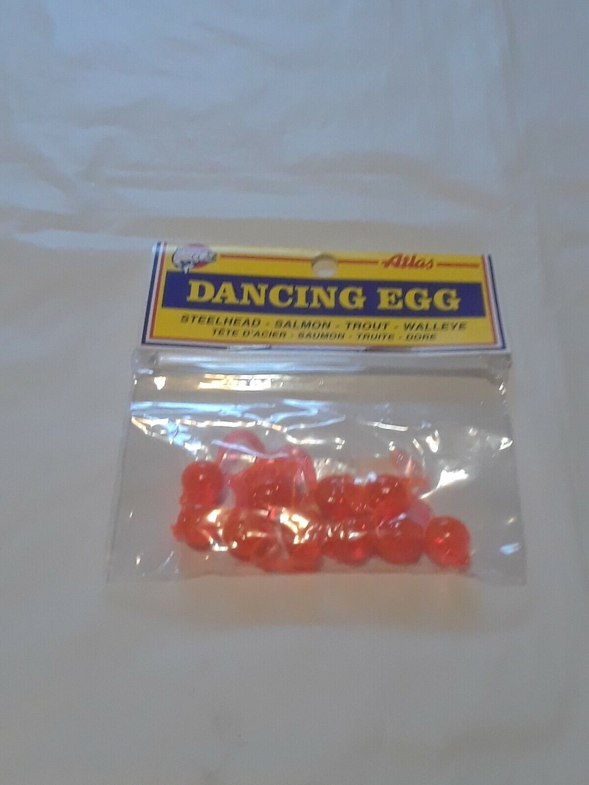 10 Atlas Orange Dancing Egg Qty