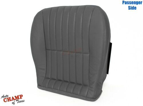 1998 1999 Chevy Camaro Convertible-Passenger Side Bottom Leather Seat Cover Gray