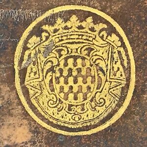 L'OEDIPE ET L'ELECTRE DE SOPHOCLE 1692 Dacier RELIURE AUX ARMES