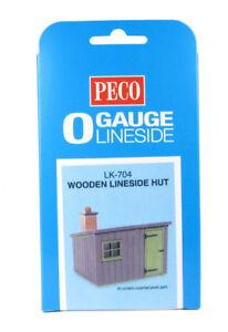 PréCis Peco Lk-704 O Gauge Wooden Lineside Hut Kit (new)