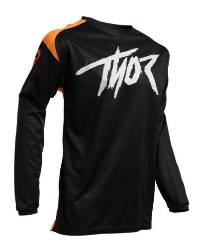 L Thor MX Motocross Men/'s Sector Link Jersey Large Orange//Black