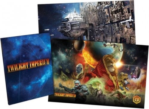 negozio online Twilight Imperium 4th Ed. Deluxe Rulelibro Hardcover + Pre-order Pre-order Pre-order Promo Art Prints  sconto online di vendita