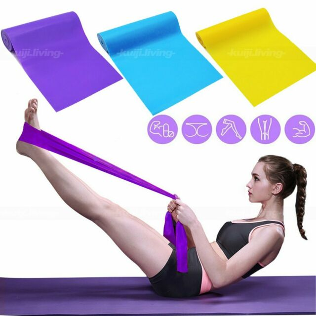 Fitness Mad Resistance Band Stretching Yoga /& Pilates Resistance Bands Rehab