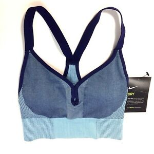 b2ccdf17a3d NWT NIKE SEAMLESS Women  039 s Light Support Sports Bralette 832106 ...