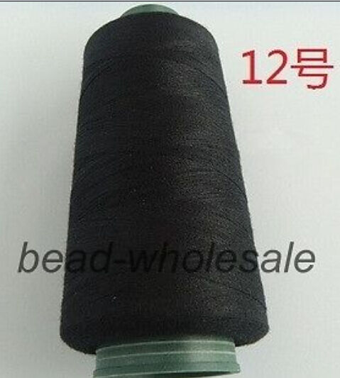 3000M Yards Overlocking Sewing Machine Polyester Thread Metre Cones 50 Colors