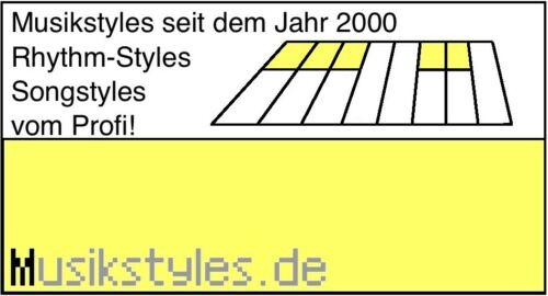 Keyboard wählen 3000 NEW Styles für GEM als Download oder USB-Stick