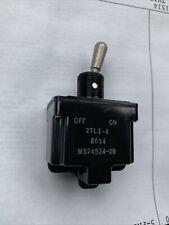 SO4YT2 12TS115-1 Honeywell Toggle Switch